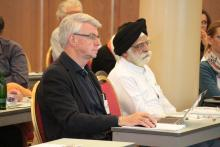 SAB members Jan Venneman and Harinder Makkar