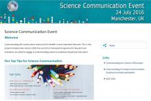H2020 Science Communication Event