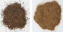 Rapeseed meal fractionation: coarse and fine fraction